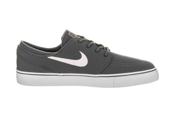 b97f4d07f4af Nike Men s SB Zoom Stefan Janoski Canvas Shoe (Dark Grey White