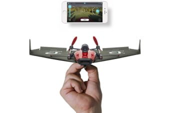 PowerUp FPV: Smartphone Controlled Live Streaming Paper Plane - PowerUp FPV Plane