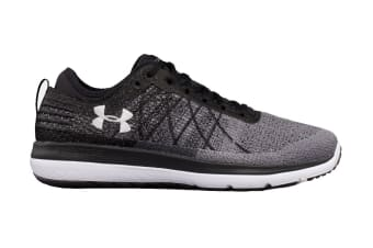 Under Armour Men's Threadborne Fortis Running Shoe (Black/Stealth Gray, Size 10)