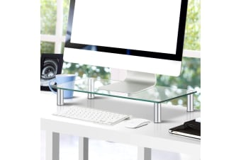 Monitor Riser Computer TV Stand Laptop Desktop LED Display Shelf