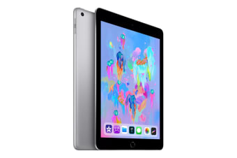 "[Open Box - As New] Apple iPad 2018 A1954 9.7"" Cellular 32GB - Space Grey"