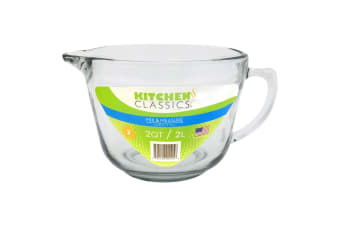 Kitchen Classics Glass Batter Bowl 2l