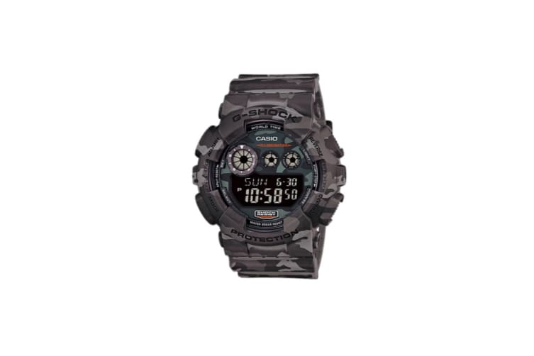 Casio G-Shock Special Edition Digital Watch - Grey Camo (GD120CM-8D)