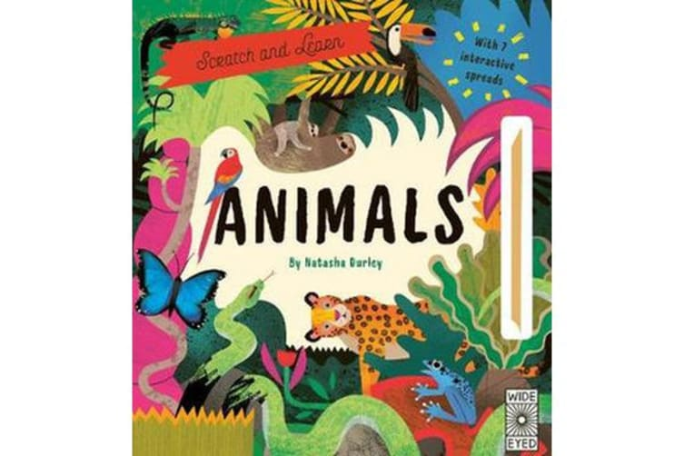 Scratch and Learn Animals - With 7 interactive spreads