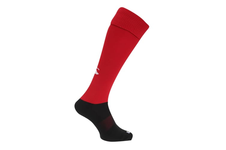Canterbury Mens Playing Rugby Sport Socks (Red) (XL)