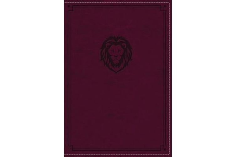 KJV, Thinline Bible Youth Edition, Leathersoft, Purple, Red Letter Edition, Comfort Print - Holy Bible, King James Version