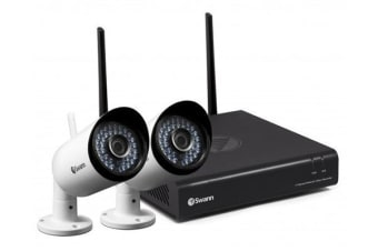 Swann 4 Channel 1080p 1TB Monitoring System with 2 x WiFi Cameras (SWNVK-485KH2)