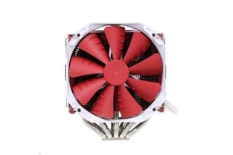 Phanteks TC14PE CPU Cooler Premium Red Edition w/ 2x 140mm Red Fan