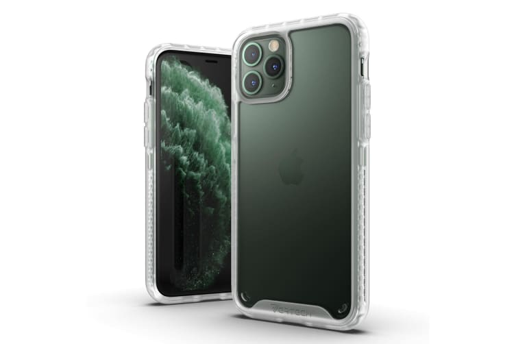 VERTECH Ultra Hybrid Shockproof Slim Hard Cover for iPhone 11 Pro-Frost White