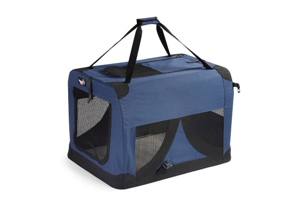 pawever pets portable soft pet dog crate large - Soft Dog Crates