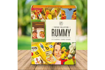 Ladybird Books Rummy Card Game | playing cards vintage