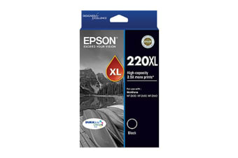 Epson 220 400 Pages HY Black Ink Cart