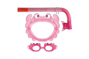 Mirage Aqua Junior Mask & Snorkel Set Pink