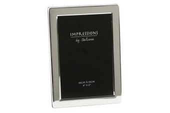 Widdop Impressions By Juliana Silver Plated Photo Frame (Silver)