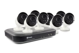 Swann 8 Channel 4K Ultra HD 2TB DVR with 8 x PRO-4KMSB True Detect Thermal Sensing Bullet Cameras (SWDVK-855808)
