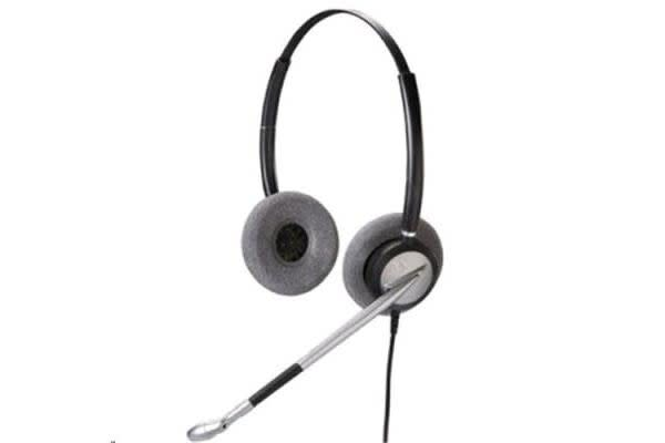 Addcom ADD770 Binaural Headset with Wideband speakers and noise cancelling microphone