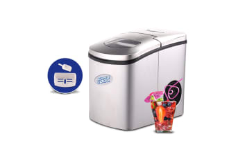 Easy Cool Automatic 2L Ice Cube Maker Machine Stainless Steel