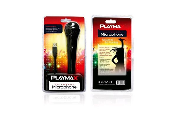 Playmax Microphone - Single (PS4/Xbox One/PS3/360)