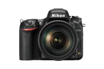 New Nikon D750 DSLR 24MP Kit 24-120mm Digital Camera Black (FREE DELIVERY + 1 YEAR AU WARRANTY)