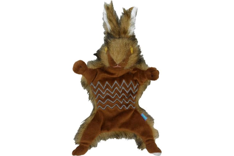 Hemm & Boo Country Hare Road Kill Dog Toy (May Vary) (One Size)