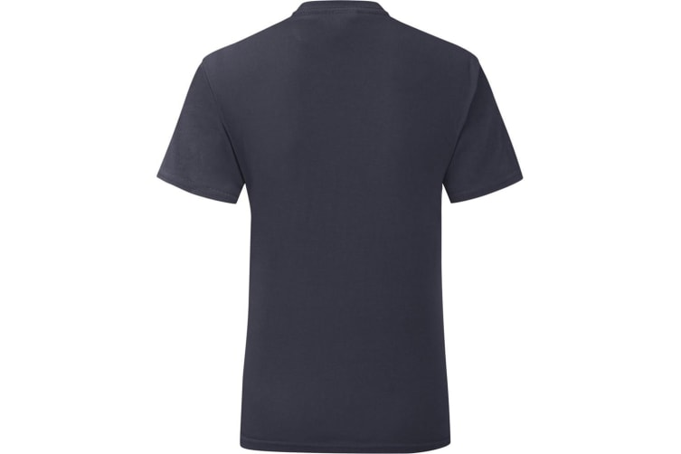Fruit Of The Loom Mens Iconic T-Shirt (Deep Navy) (S)