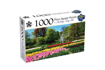Lisse, The Netherlands, 1000 Piece Puzzle & Sorting Tray
