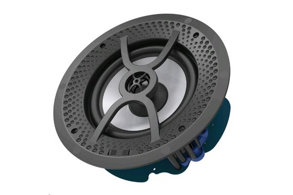 "Lumiaudio 6"" 2-way Moisture Resistant Frameless Recessed Ceiling Speaker.60W RMS Frequency"