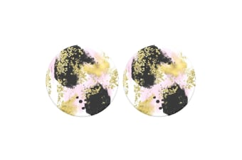 2PK PopSockets Gilded Glam Swappable Top for Pop Socket Base Grip/Stand PopGrip