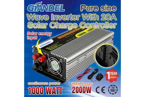 Image of 1000W Overload Protection Pure Sine Wave Inverter