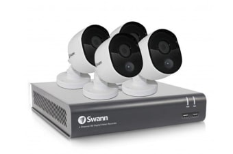 Swann 4 Channel 1080p 1TB DVR with 4 x PRO-1080MSB Thermal Motion Sensing HD Cameras (SWDVK-445804)