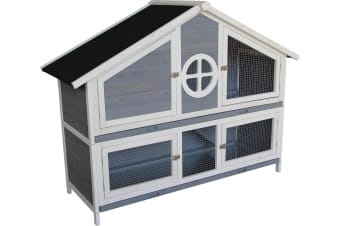 2 Storey Rabbit Hutch and Coop