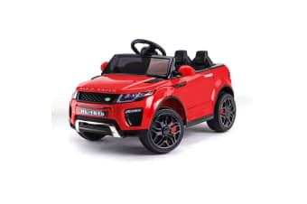 ROVO KIDS Ride-On Car Electric Toy Childrens Battery Powered w/ Remote 12V Red