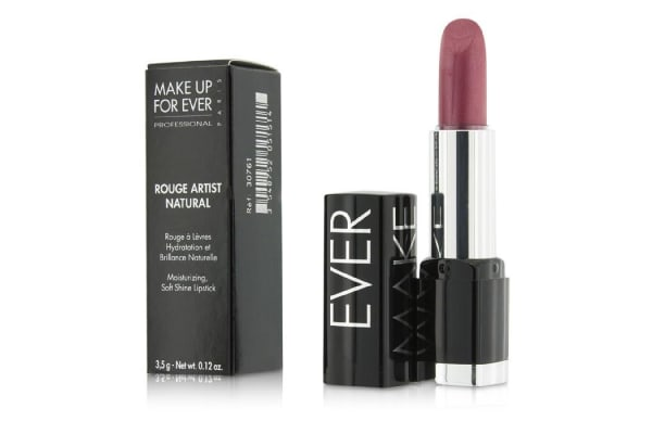 Make Up For Ever Rouge Artist Natural Soft Shine Lipstick - #N11 (Iridescent Strawberry) (3.5g/0.12oz)