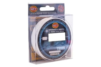 300m Spool of 6kg Transparent WFT Gliss Monotex Hybrid Fishing Line