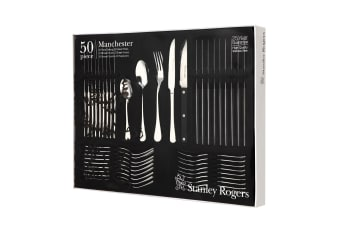 Stanley Rogers 50 Piece Manchester Cutlery Gift Boxed Set