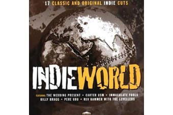 Indie World 17 Classic And Original Indie Cuts BRAND NEW SEALED MUSIC ALBUM CD