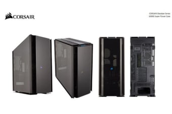 Corsair Obsidian Series 1000D Super Tower Case, Premium Tempered Glass and Aluminum Case - E-ATX, ATX, Micro-ATX, Mini-ITX, SSI-EEB