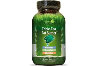 Irwin Naturals Triple-Tea Fat Burner - 75 Liquid Softgels