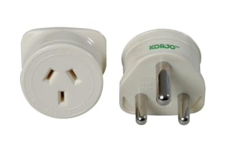 Korjo Single Travel Adapter (South Africa)