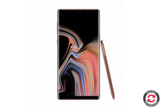 Refurbished Samsung Galaxy Note9 Dual SIM (128GB, Metallic Copper)