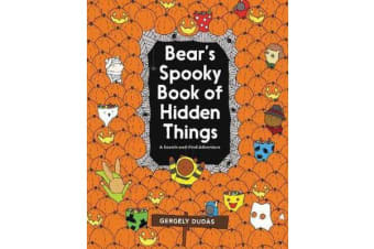 Bear's Spooky Book of Hidden Things - Halloween Seek-and-Find