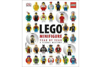 LEGO (R) Minifigure Year by Year A Visual History - With 3 Minifigures
