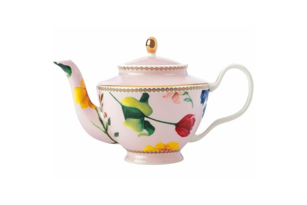 Maxwell & Williams Teas & C's 500ml Teapot w  Stainless Steel Infuser Rose Pink