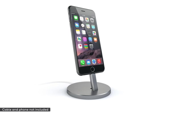 Satechi Aluminium Mobile Dock For iPhone & iPad mini (Space Grey)