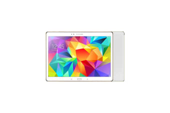 Samsung Galaxy Tab S 10.5 Dazzling White 16GB (Fair)""