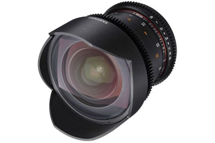 New Samyang 14mm T3.1 ED AS IF UMC VDSLR II for Canon (FREE DELIVERY + 1 YEAR AU WARRANTY)