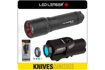 New LED LENSER T7M Flashlight 400 Lumens Torch & Intelligent Filter