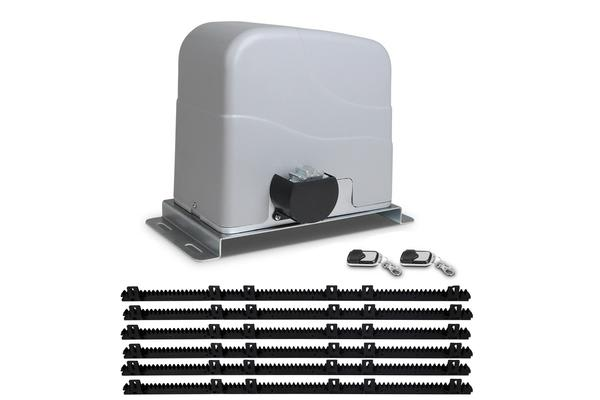 LockMaster Automatic Sliding Gate Opener Electric 1200kg 6M Remote Control