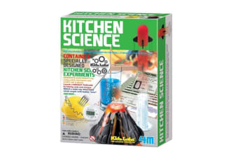KItchen Science Experiments Kit | 4M Kids Labs chemistry toy educational