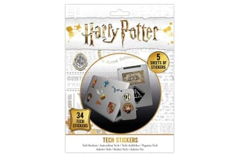 Harry Potter Official Laptop Macbook Stickers (Various) (One Size)